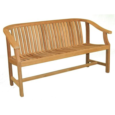 Jewels of Java Charles Teak Garden Bench