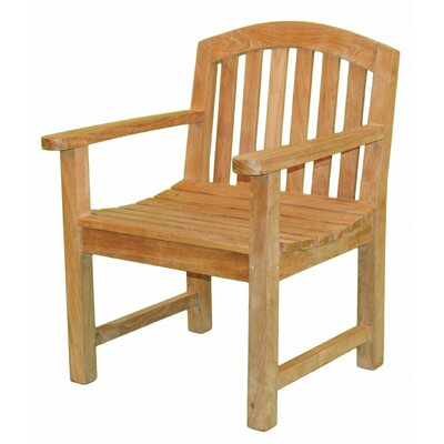Jewels of Java Fanback Garden Chair with Arms