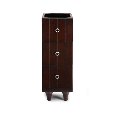 "Xylem Capri 12"" Bridge Drawer Vanity Base"