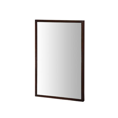 "Xylem Blox 30"" Mirror in Dark Walnut"