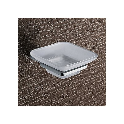 Gedy by Nameeks Kansas Wall Mounted Glass Soap Dish