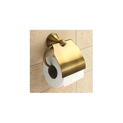 Gedy by Nameeks Romance Wall Mounted Toilet Paper Holder with Cover
