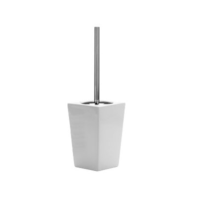 Gedy by Nameeks Jamila Toilet Brush Holder in White