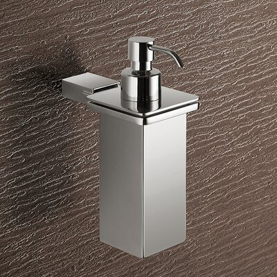 Gedy by Nameeks Kansas Wall Mounted Stainless Steel Soap Dispenser
