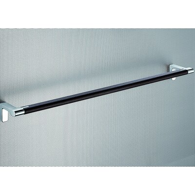 "Gedy by Nameeks Odos Wood 23.62"" Wall Mounted Towel Bar"
