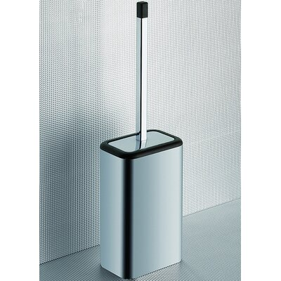 Gedy by Nameeks Odos Wood Toilet Brush Holder in Wenge