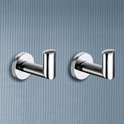 Gedy by Nameeks Demetra Set of Two Hooks in Chrome (Set of 2)