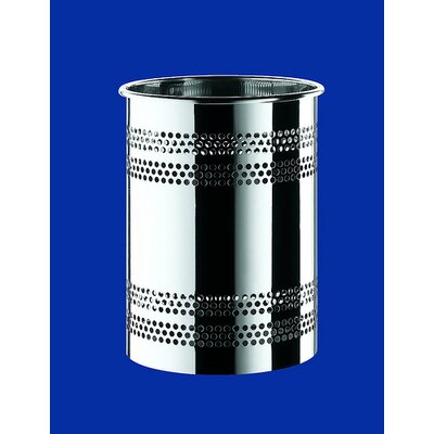 Gedy by Nameeks Oltre Waste Basket in Polished Steel