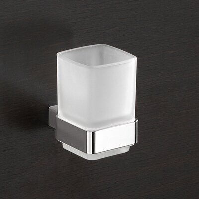 Gedy by Nameeks ovies.comLounge Wall Mounted Tooth Brush Holder in Chrome