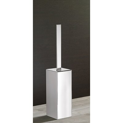 Gedy by Nameeks Lounge Toilet Brush Holder in Chrome