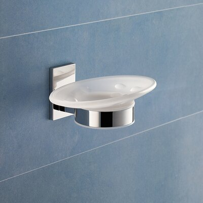 Gedy by Nameeks Maine Wall Mounted Soap Dish in Chrome