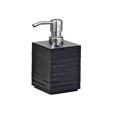 Quadrotto Soap Dispenser in Black