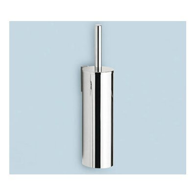 Gedy by Nameeks Wall Mounted Toilet Brush Holder in Stainless Steel
