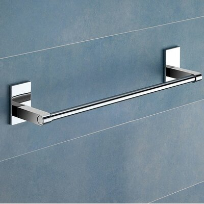 "Gedy by Nameeks Maine 13.78"" Towel Bar in Chrome"