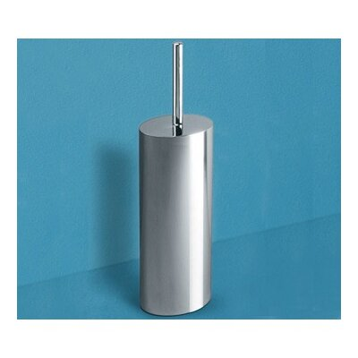 Gedy by Nameeks Mimosa Toilet Brush Holder in Chrome