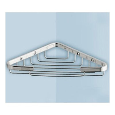 Gedy by Nameeks Corner Shelf in Chrome