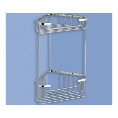 Gedy by Nameeks Wire Corner Shelf in Chrome
