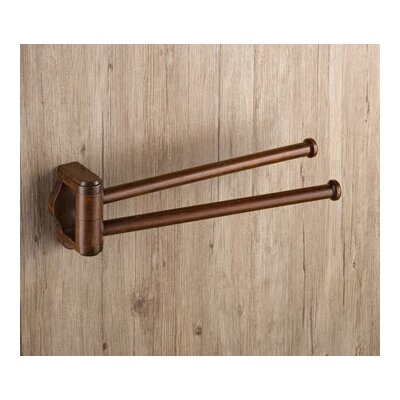 "Gedy by Nameeks Montana 14.9"" Wall Mounted Swivel Towel Bar"