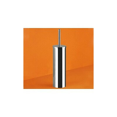 Gedy by Nameeks Genziana Cylindrical Toilet Brush Holder in Chrome