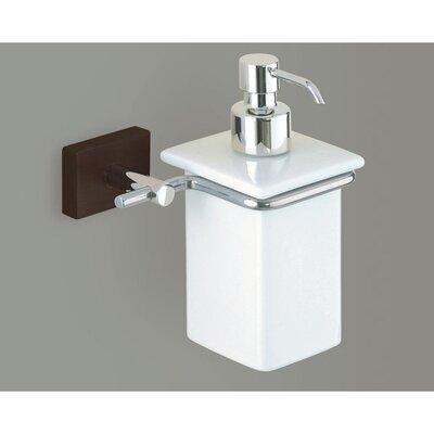 Gedy by Nameeks Minnesota Woods Porcelain Soap Dispenser