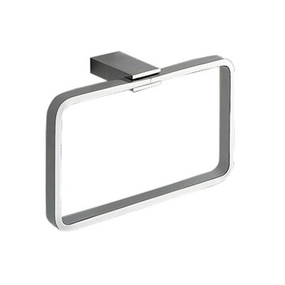 Gedy by Nameeks Kansas Towel Ring in Chrome