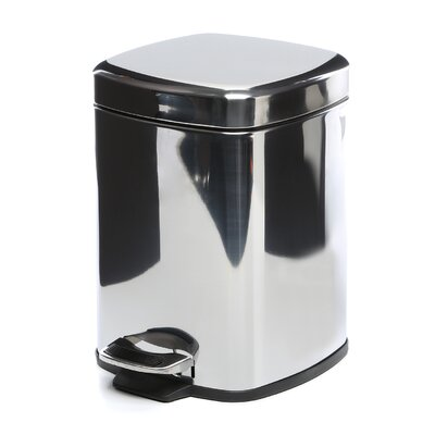 Gedy by Nameeks Argenta Square Pedal Waste Bin