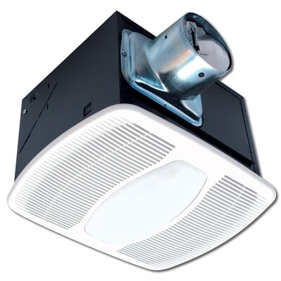 Deluxe 80 CFM Energy Star Exhaust Bathroom Fan