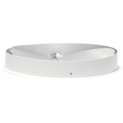 Air King Round Collar with Back Draft Damper