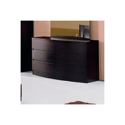 Beverly Hills Furniture Maya 6 Drawer Dresser