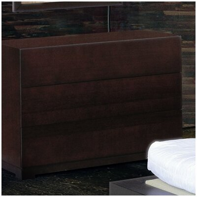 Beverly Hills Furniture Zen 3 Drawer Dresser