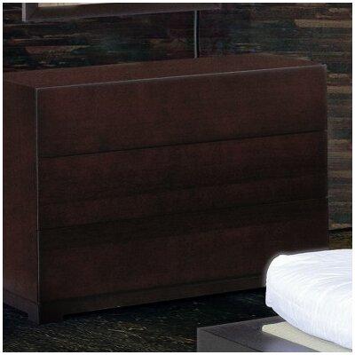 Beverly Hills Furniture Zen 3 Drawer Dresser