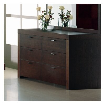 Hokku Designs Traxler 6 Drawer Dresser