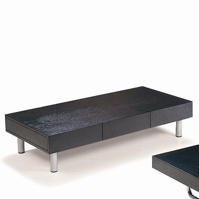 Hokku Designs Coffee Table with Drawer
