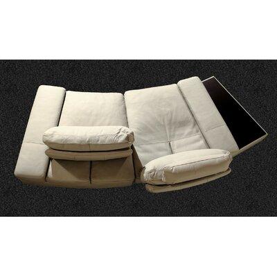 Hokku Designs Modi Leather Modular Sofa