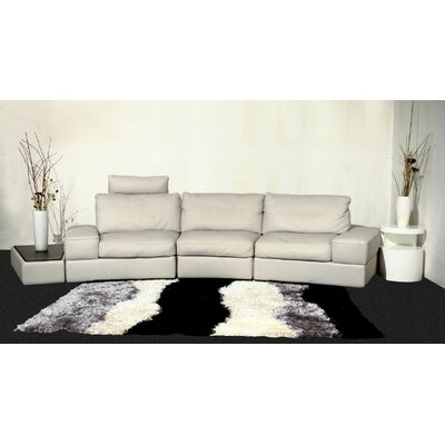 Beverly Hills Furniture Modi Leather Modular Sofa