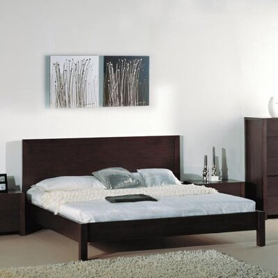 Beverly Hills Furniture Etch Platform Bed