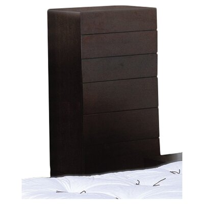 Beverly Hills Furniture Zen 6 Drawer Chiffonier