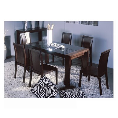 Beverly Hills Furniture Reflex Dining Table
