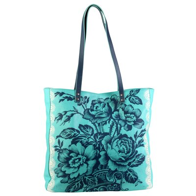 Amy Butler Blue Imperial Alissa Tote Bag