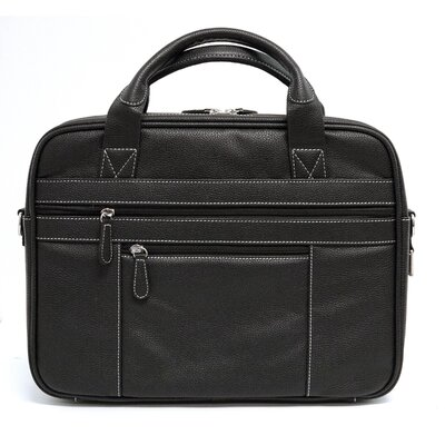Leather Laptop Tech Briefcase