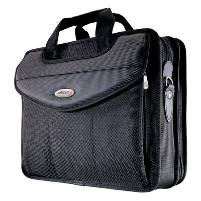 "Mobile Edge 16"" Premium V-Load Briefcase in Black"
