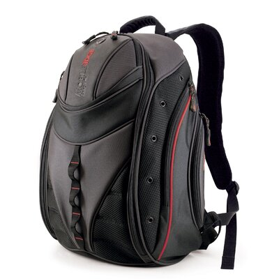 Express Backpack in Black / Red