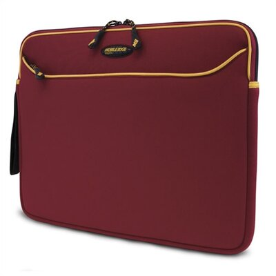 "Mobile Edge 14.1"" Red / Gold SlipSuit Neoprene Laptop Sleeve"