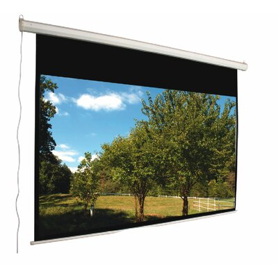 "Mustang 106"" 16:9 Aspect Ratio Electric Screen in Matte White"