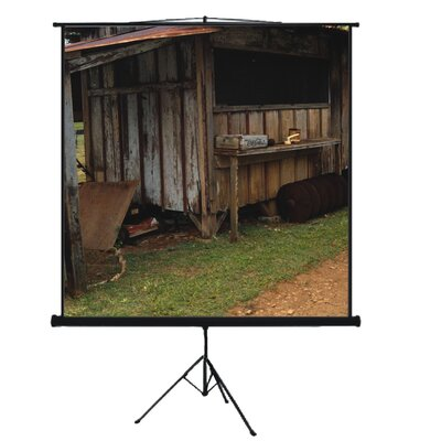 "Mustang 80"" Tripod Screen in Matte White"