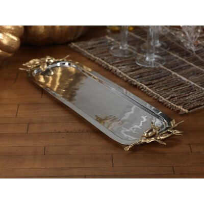Zodax Rectangular Serving Tray