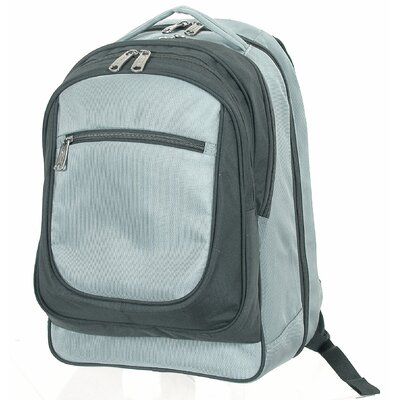 Easy Check Computer Backpack in Grey