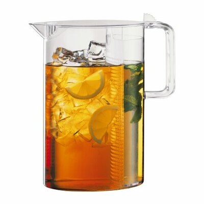 Bodum Ceylon 51 oz Iced Tea Jug and Water Infuser Set