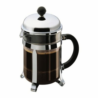 Bodum Chambord French Press Coffee Maker with Shatterproof Carafe