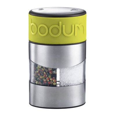 Bodum Twin Salt and Pepper Grinder in Green